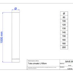 disegno-tecnico-save-air-tubo-100-zincato
