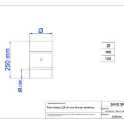 disegno-tecnico-save-classic-tubo-25-foro-serranda