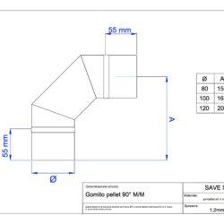 disegno-tecnico-save-pellet-gomito-90-mm