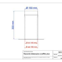 disegno-tecnico-save-plus-raccordo-telescopico-soffitto
