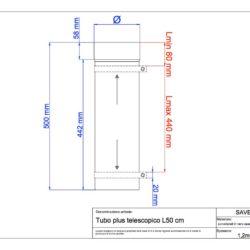 disegno-tecnico-save-plus-tubo-telescopico-50